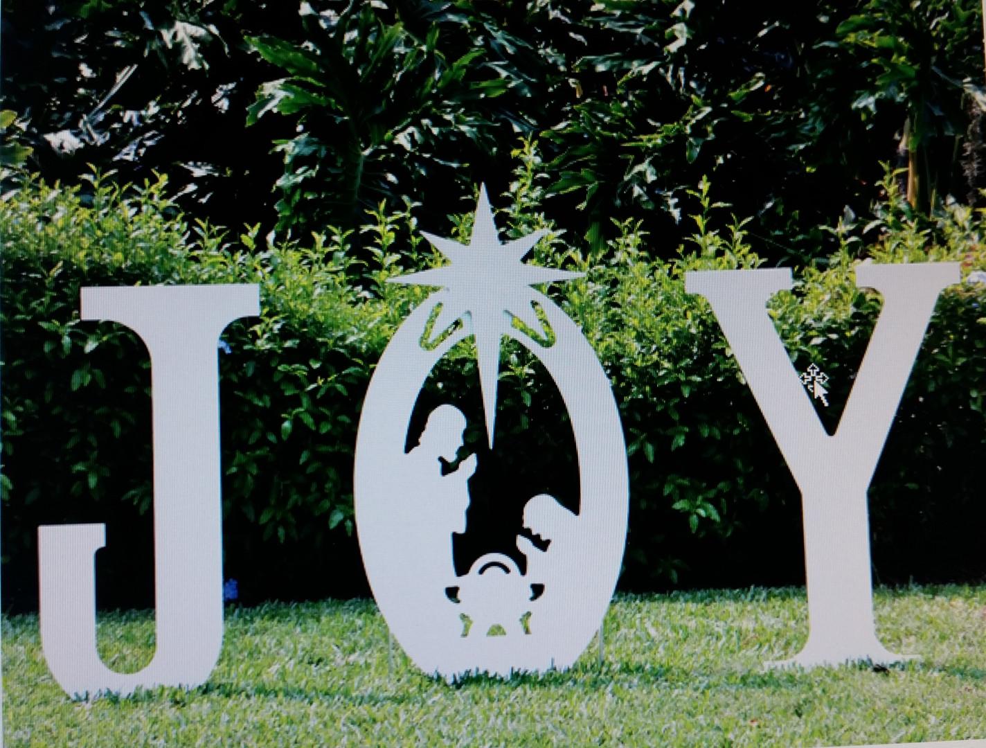 Joy! SCV Outdoor Nativity