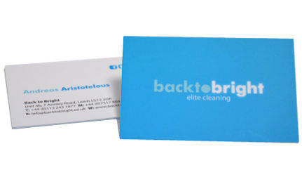 Business card printing Leeds