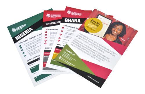 A5 Leaflet printing, printers in leeds
