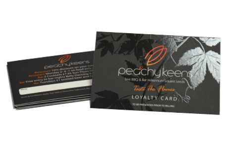 Spot UV business card printing Leeds