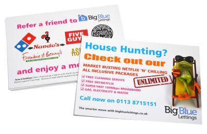 A6 Leaflets, Leaflet printing Leeds