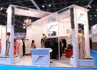 Juri Fashion Winner of the Most Beautiful Stand at BRIDE Dubai 2016