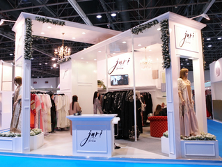 Juri Fashion Winner of the Most Beautiful Stand at BRIDE Dubai 2016