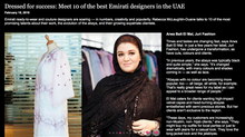 Dressed for success: Meet 10 of the best Emirati designers in the UAE
