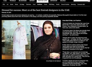 Dressed for success: Meet 10 of the best Emirati designers in the UAE