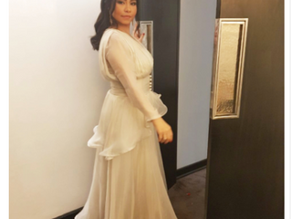 Albayan on Sherine Abdel-Wahab Dress