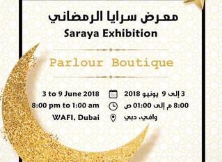 Juri Fashion atSaraya Exhibition at Wafi Mall جوري فاشن تشارك فى معرض سرايا الرمضاني