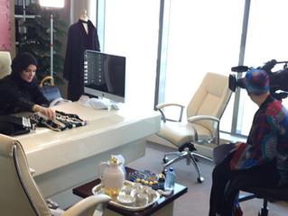 Media Coverage Juri on Dubai TV . . .   تغطية اعلامية جوري فاشون على قناة دبي