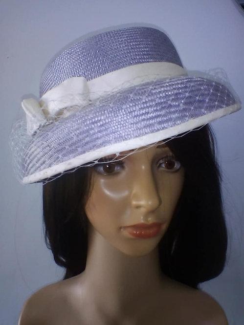 Pale purple parisisal picture hat