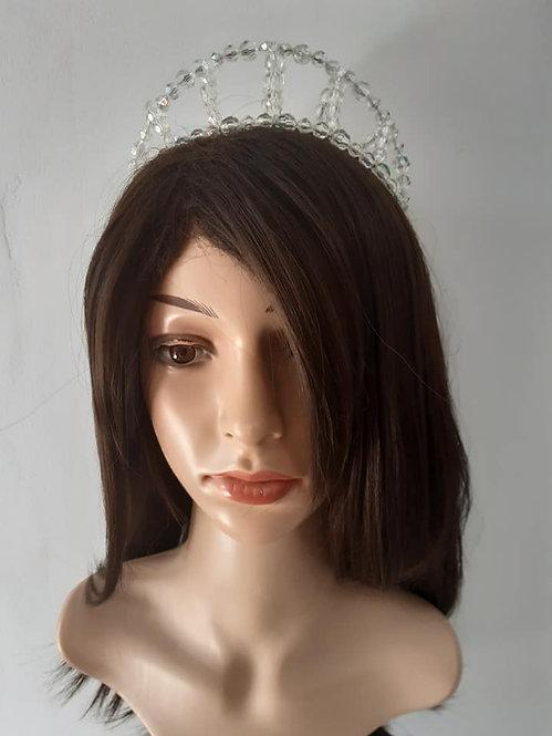 Acrylic beaded crown