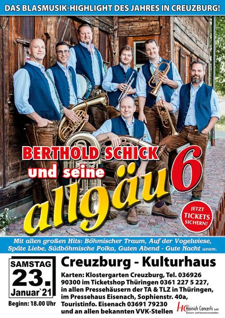 Berthold Schick und seine Allgäu6