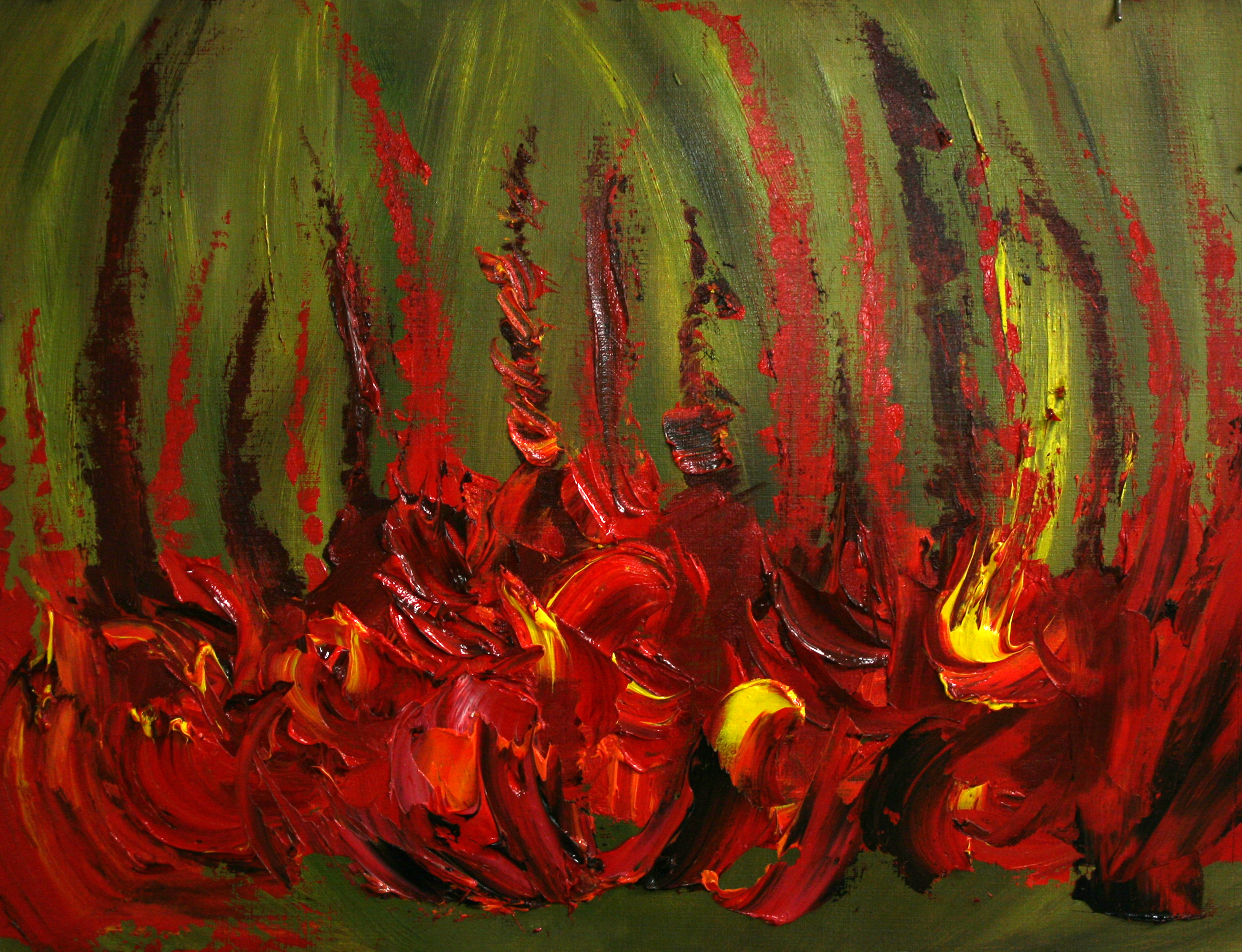 """""""Flower and Fire Abstraction"""""""