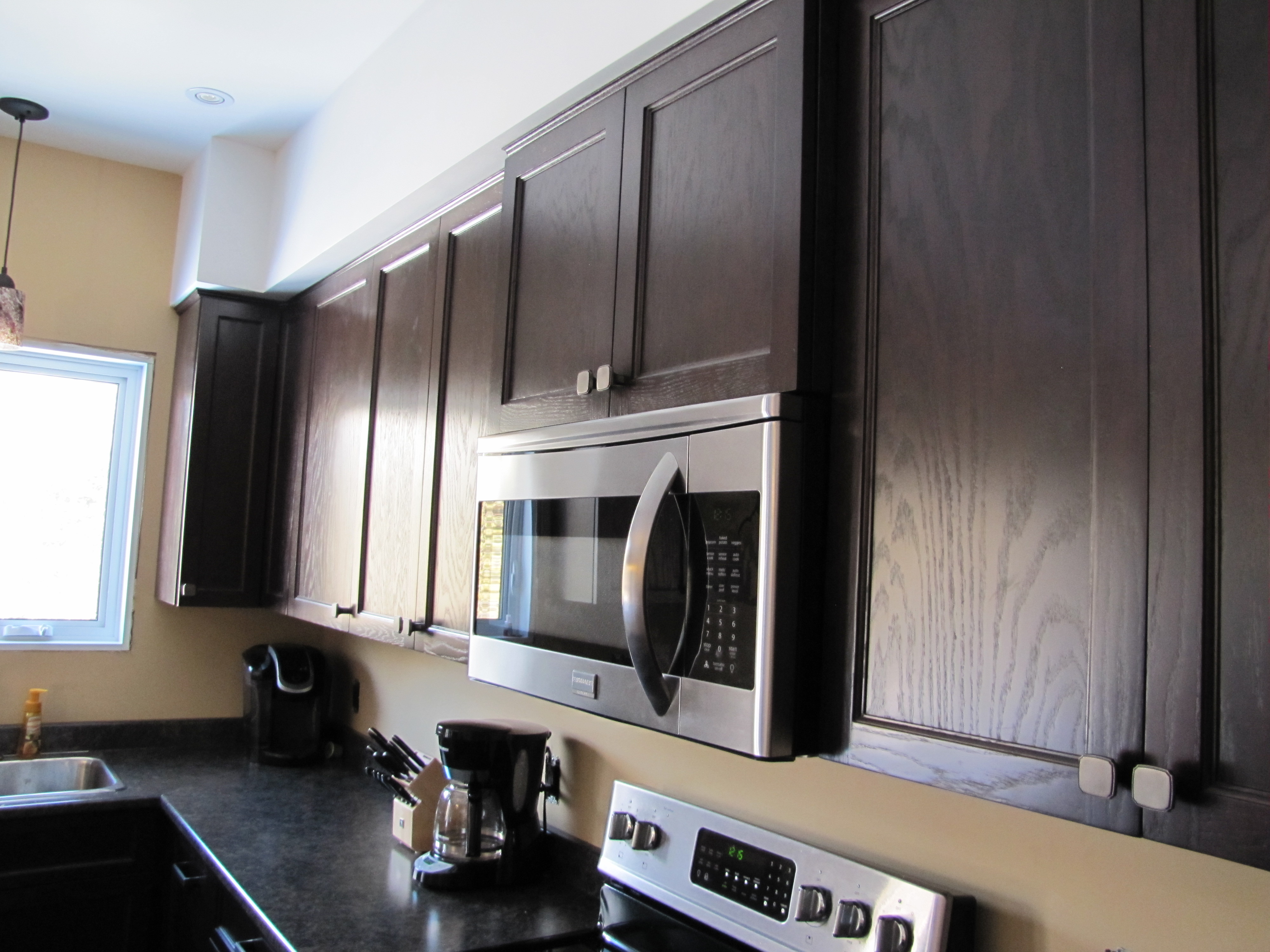 Stained Oak Kitchen