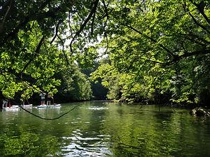 Location de canoë kayak sur le Rhône entre l'Isére et la Savoie