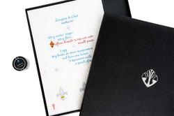 Luxury Recipe and Saffron Box