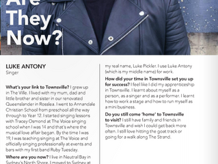 Luke chats with DUO Magazine