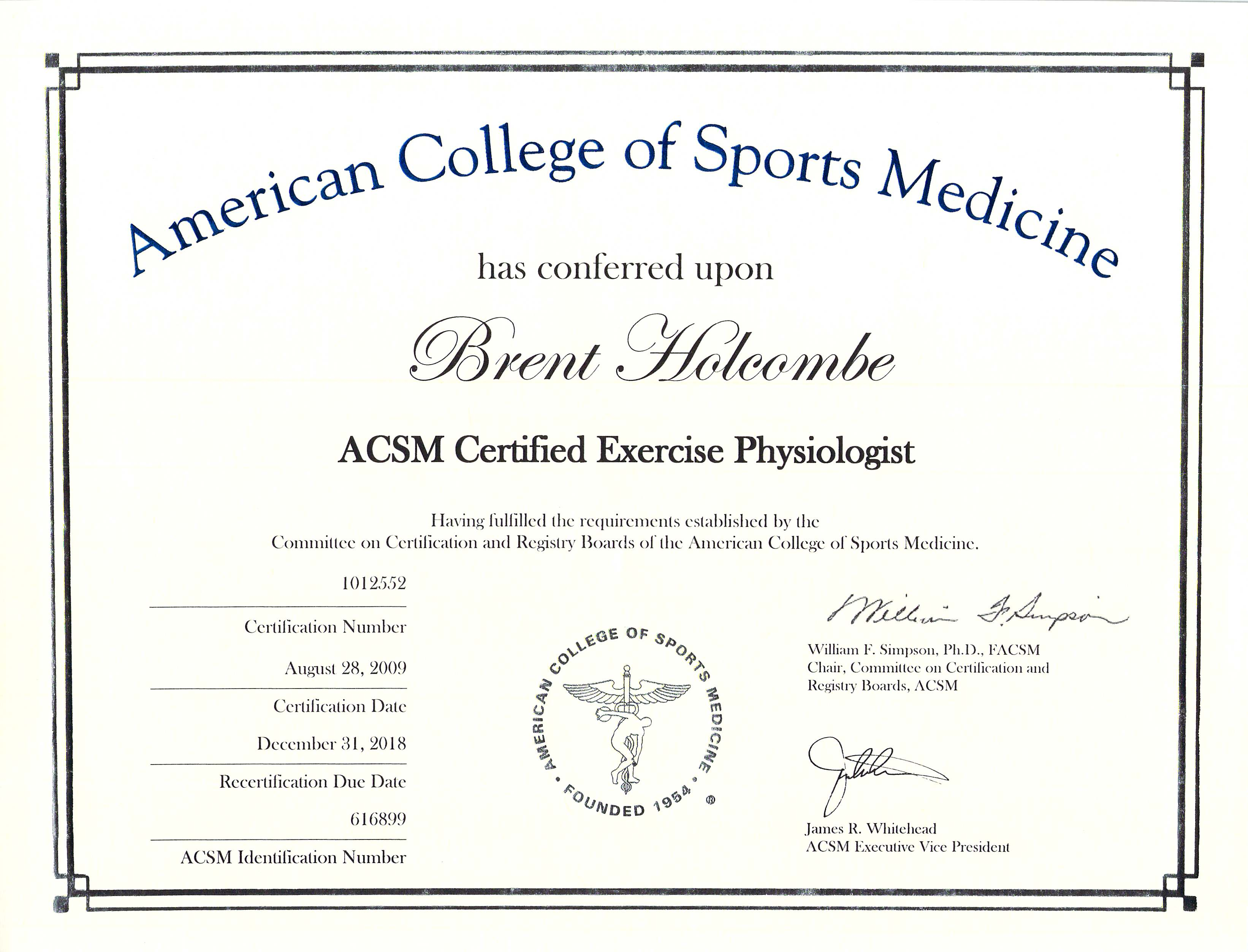 Exercise Physiologist