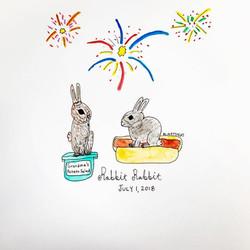 Rabbit Rabbit July 2018