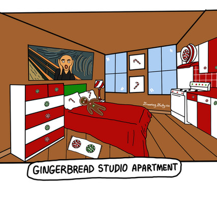 Gingerbread Studio Apartment