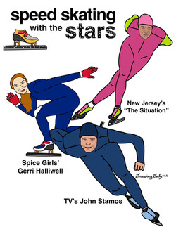 Speed Skating with the Stars