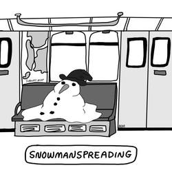 Snowmanspreading