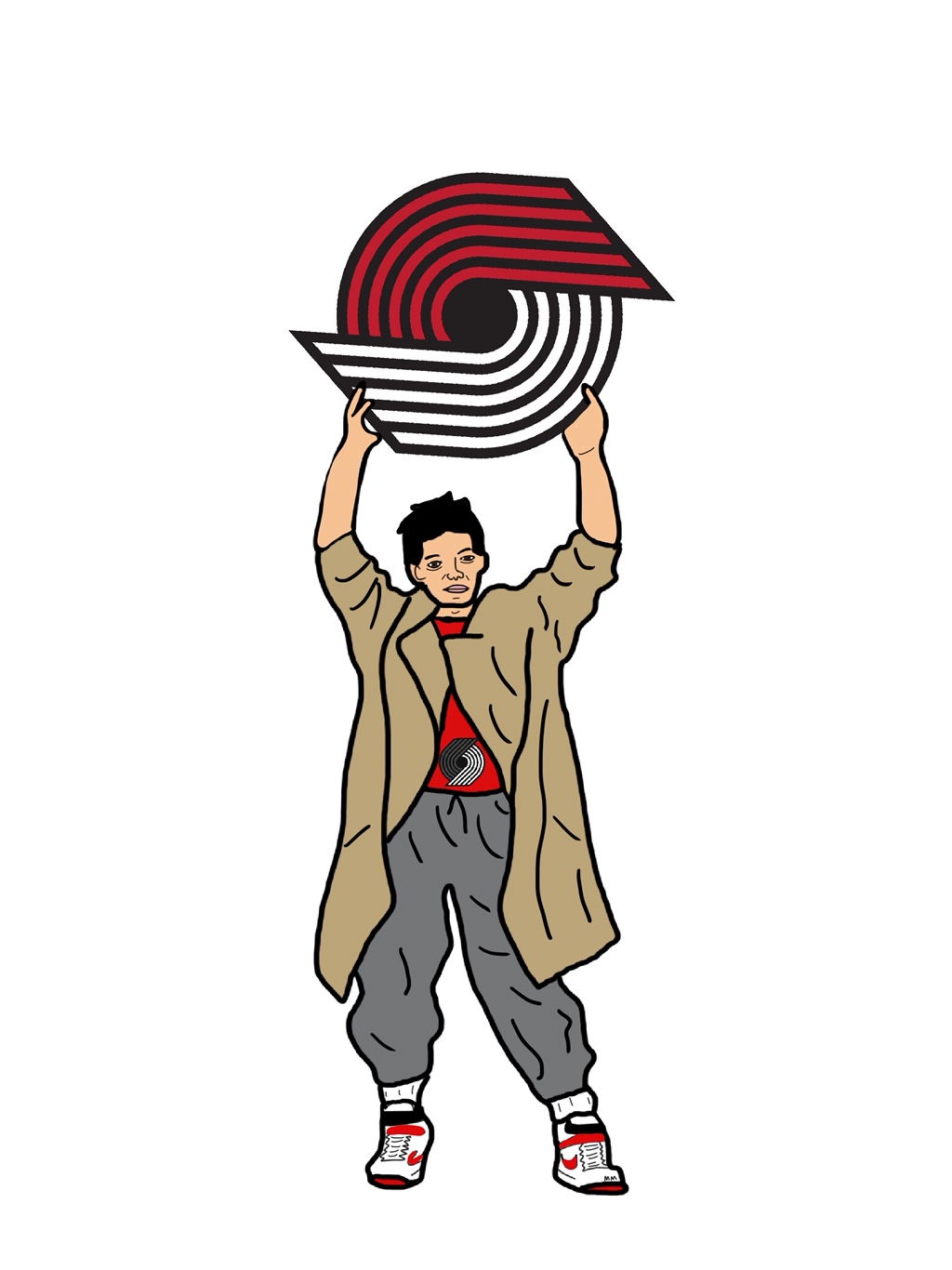 Lloyd Dobbler For The Blazers