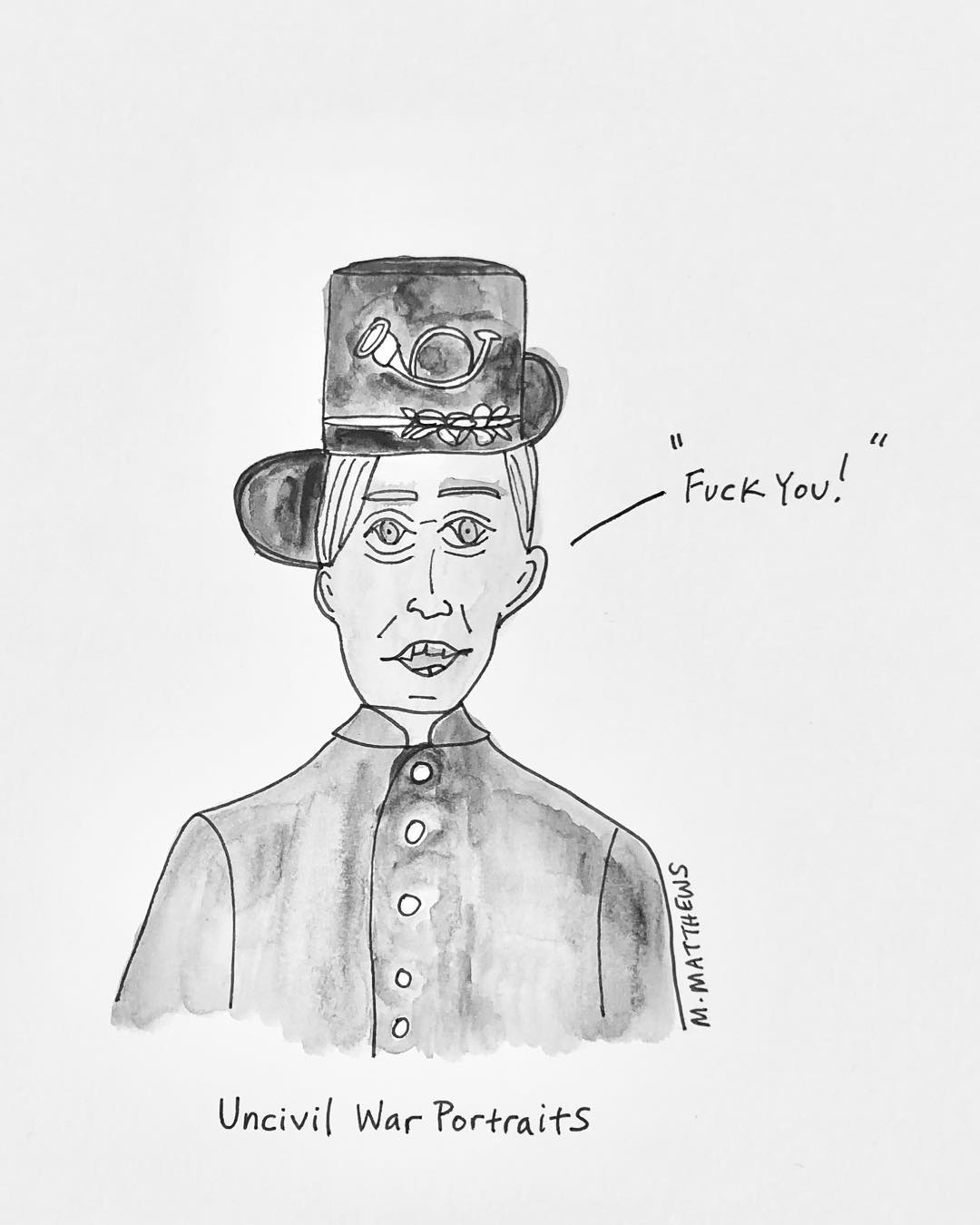Uncivil War Portraits