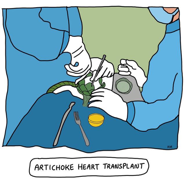 Artichoke Heart Transplant