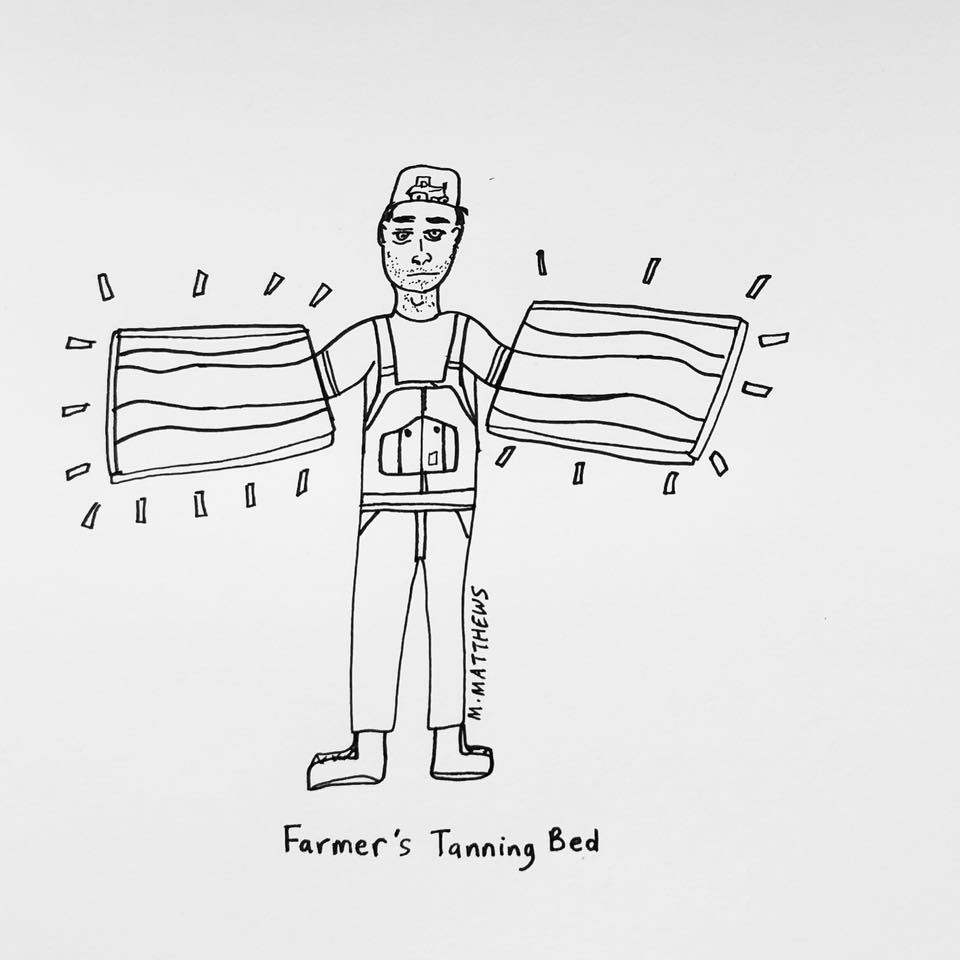 Farmer's Tanning Bed