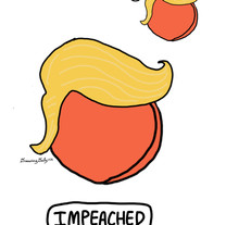 Impeached. Twice.