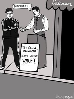Invalidating Valet