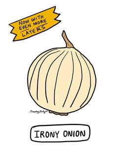 Onion of Irony