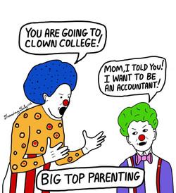 Big Top Parenting
