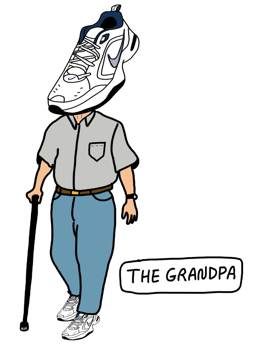 Sneaker Head: Grandpa