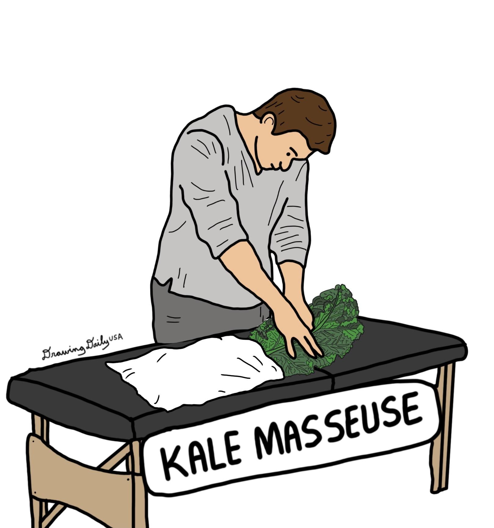 Kale Masseuse