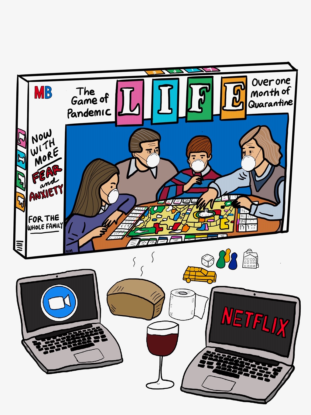 Pandemic Game of Life