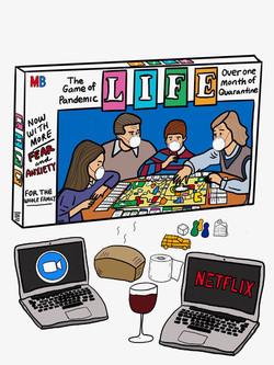 Pandemic Game of Life