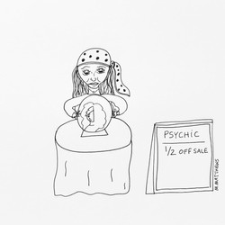 Psychic 1/2 Off Sale
