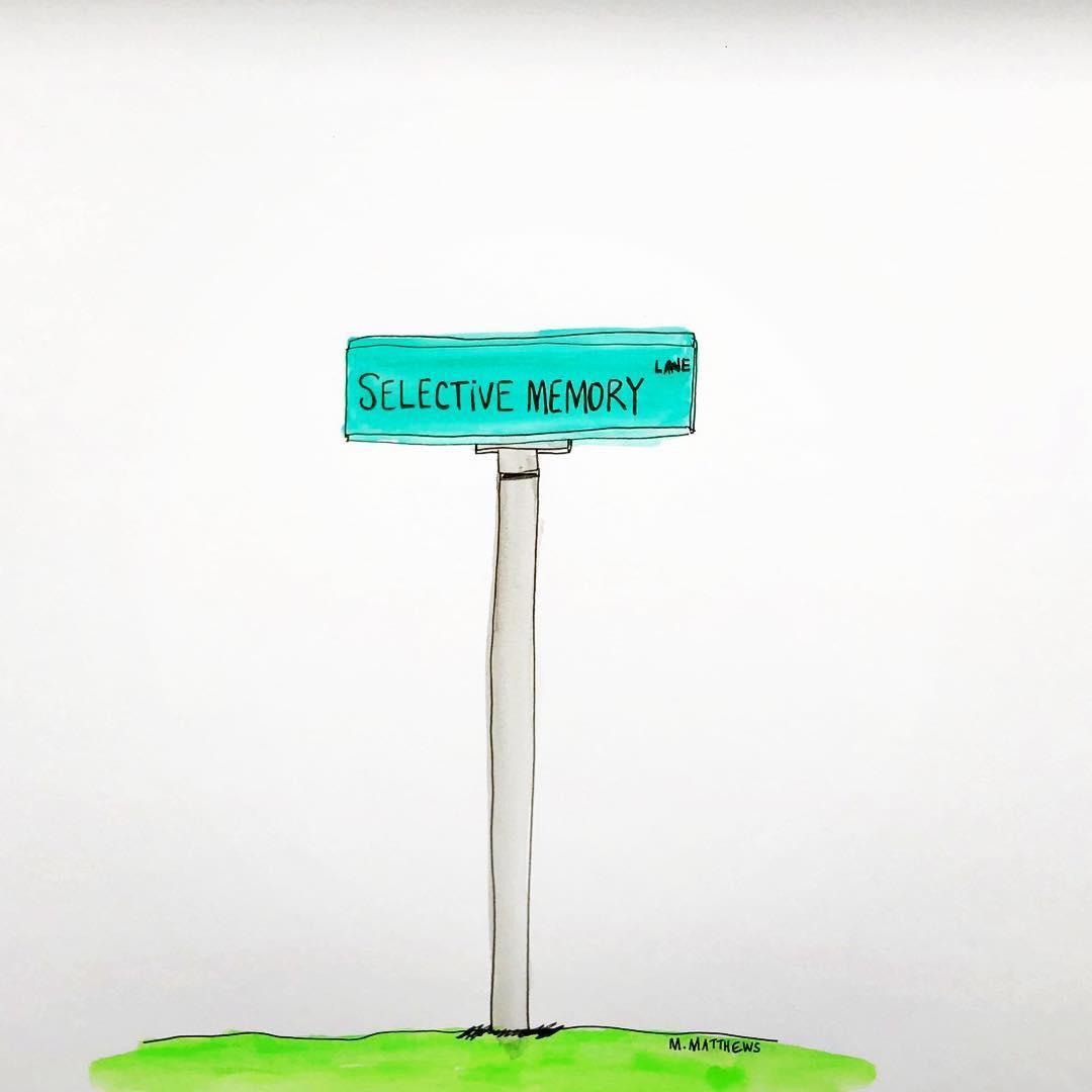 Selective Memory Lane
