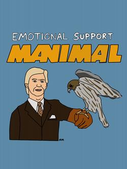 Emotional Support Manimal