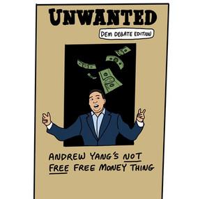 Unwanted Poster Dem Debate Edition