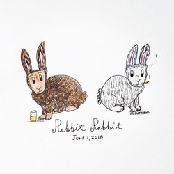 Rabbit Rabbit June 2018