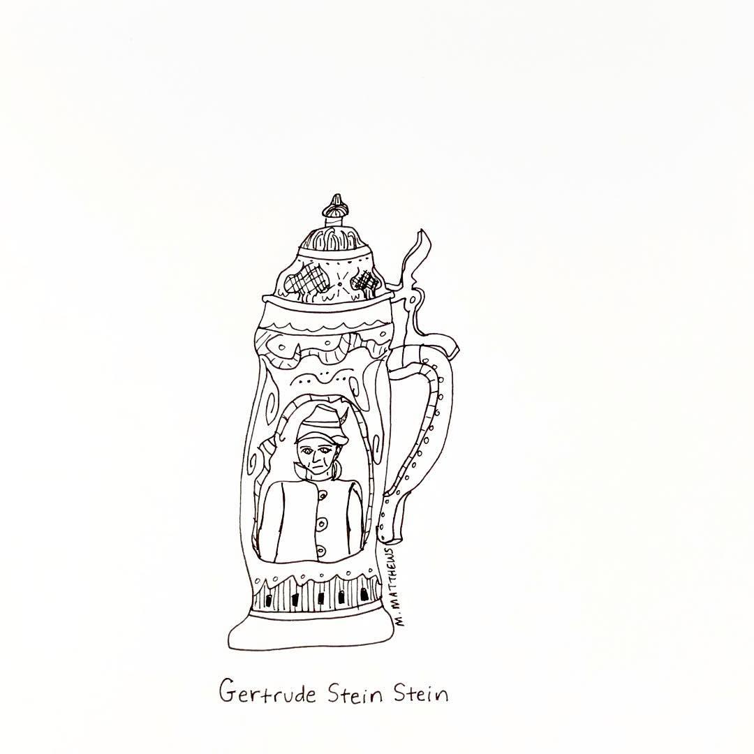 Gertrude Stein stein