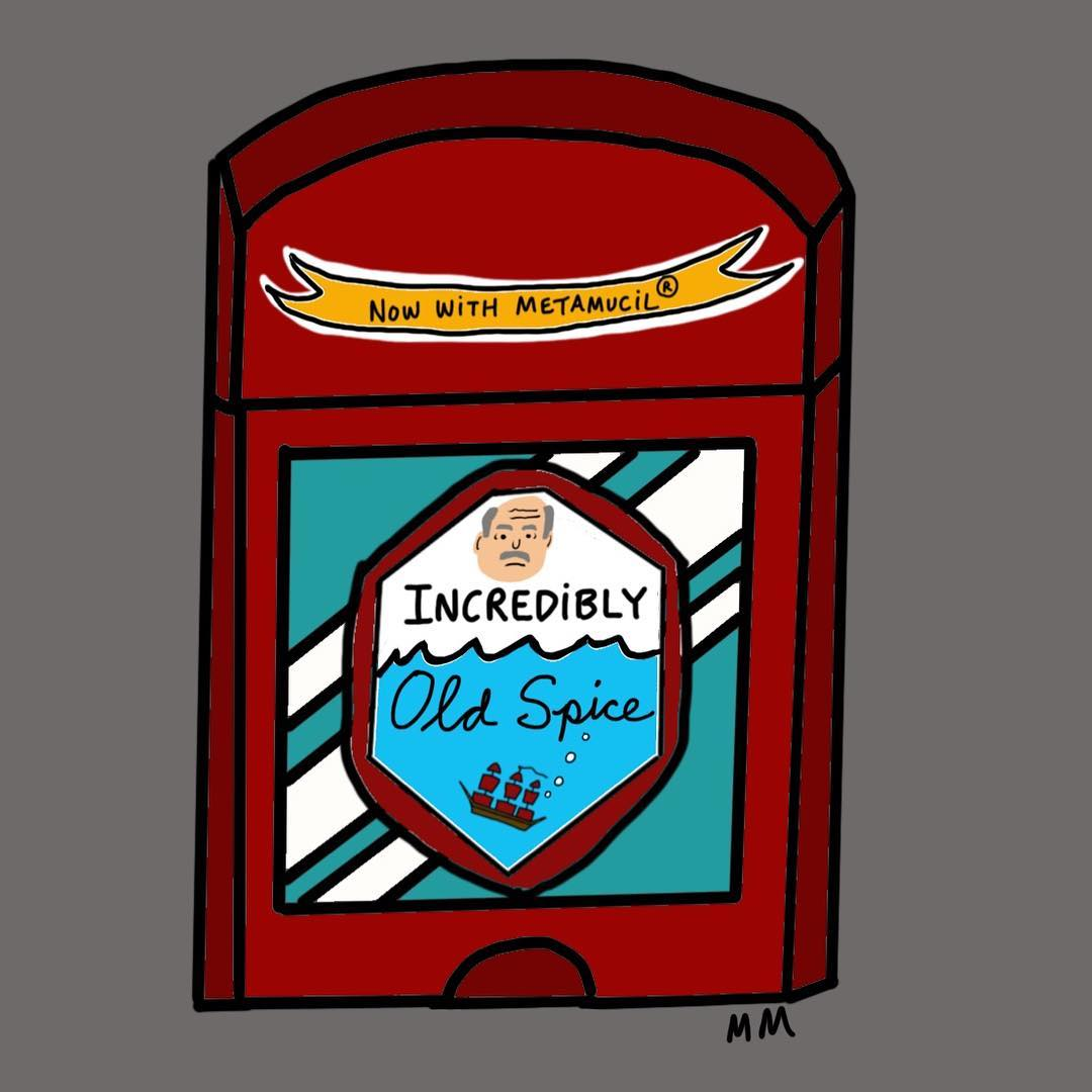 Incredibly Old Spice