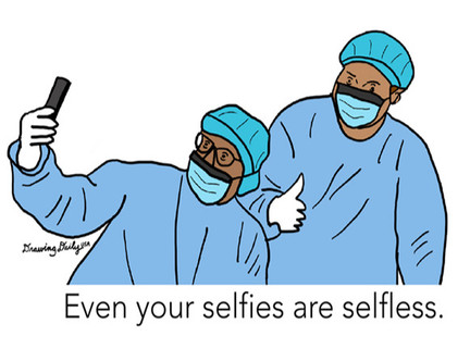 Your Selfies Are Selfless
