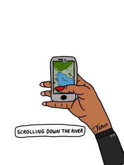 Scrolling Down the River