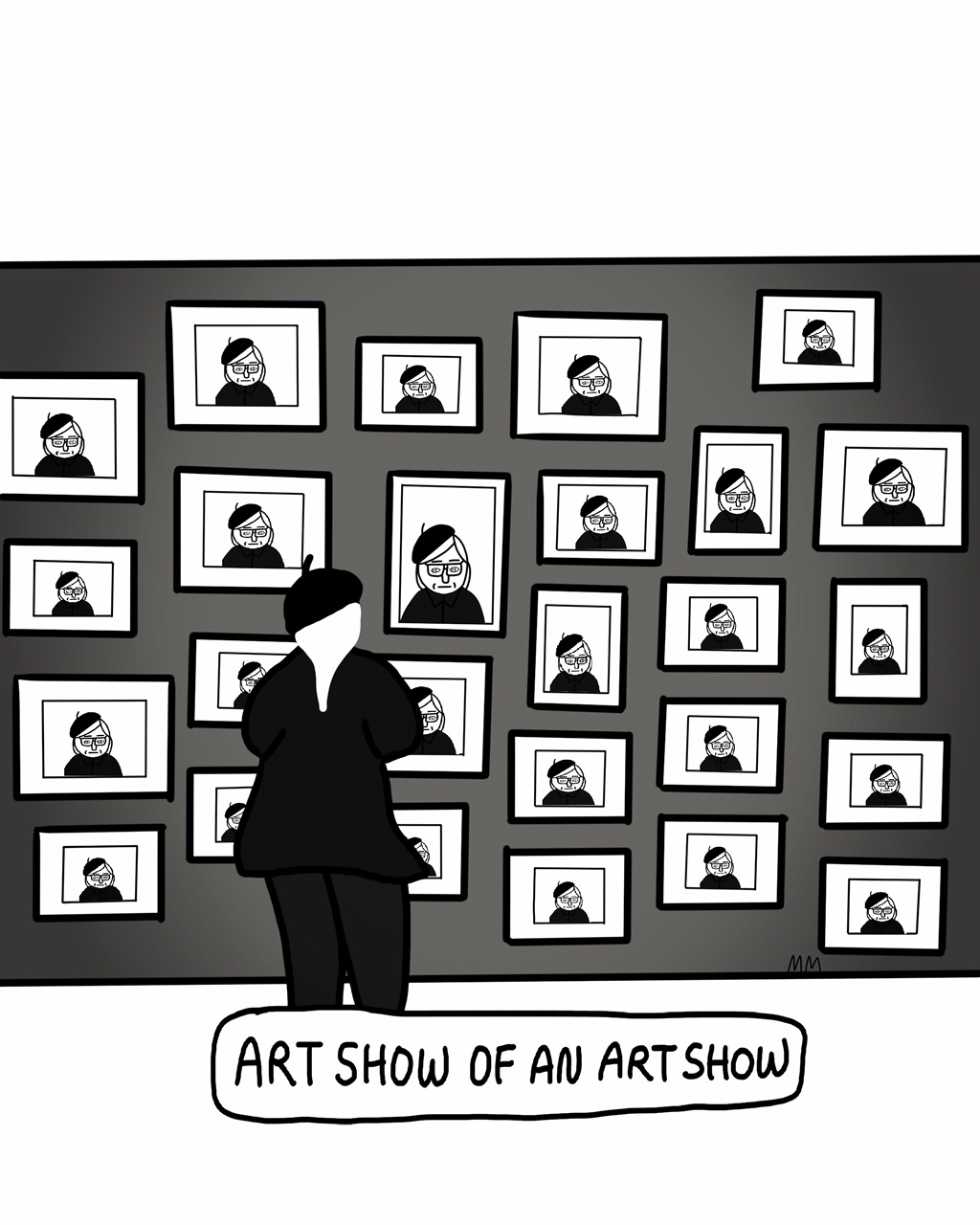 Art Show of An Art Show