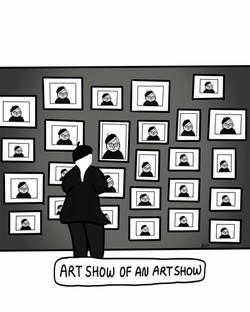 Art Show of An Art Show
