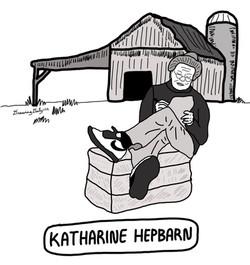 Katharine Hepbarn