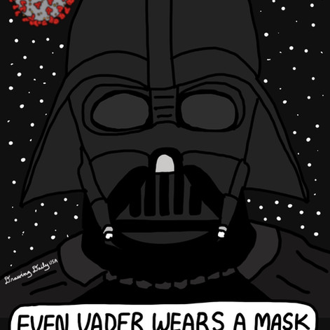 Even Vader Wears A Mask